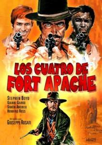los 4 de fort apache.cast