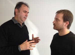 Enrique Viciano y Albert Montón