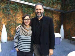 Silvia Munt y Enrique Viciano