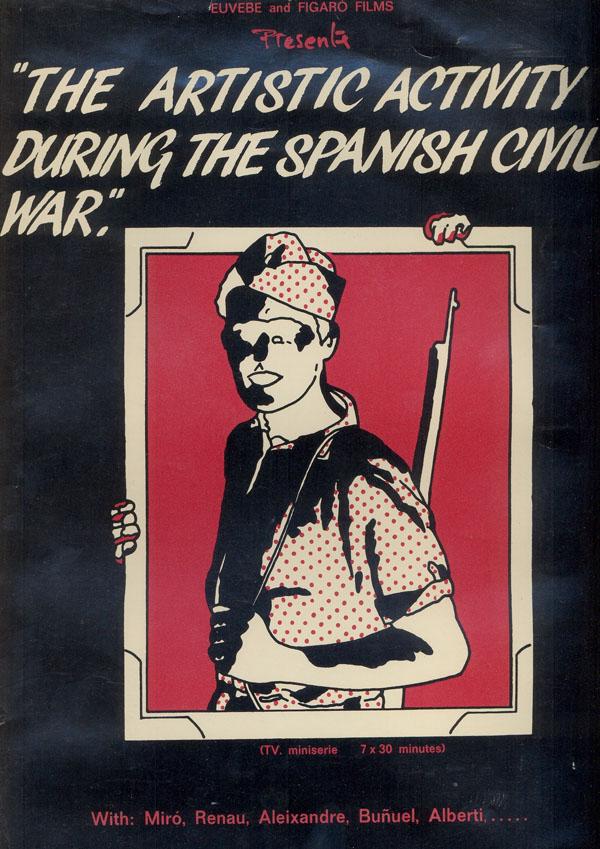 La actividad artística durante la guerra civil (1982)